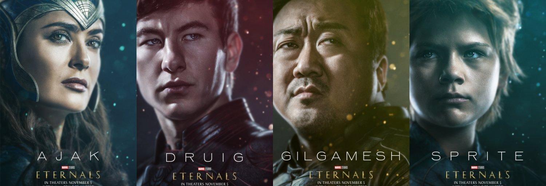 Eternals. (Dok. Marvel Studios)